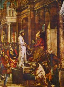 cristo e pilato